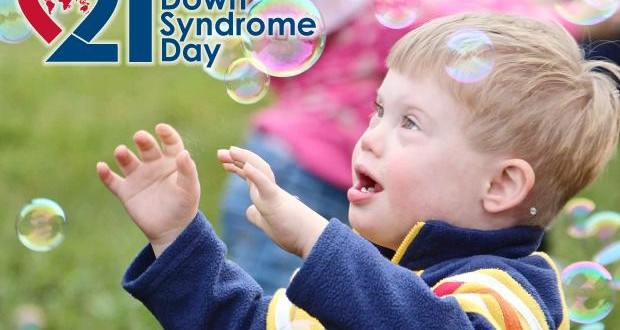 21 March, international day of Down Syndrome