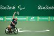 The results of the Panhellenic Tennis Championship with wheelchair
