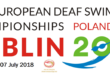 Opening for the European Deaf Swimming Championship