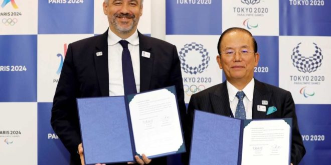 Tokyo 2020 and Paris 2024 Establish Partnership