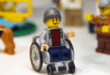 The first LEGO figure in a wheelchair (Photos)