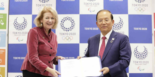 Tokyo 2020 signs Letter of Intent with the United Nations promoting the contribution of sport to Sustainable Development